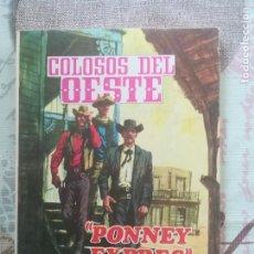 Tebeos: COLOSOS DEL OESTE Nº 156. Lote 169002048