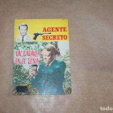 Tebeos: AGENTE SECRETO Nº 4, NOVELA GRÁFICA, EDITORIAL FERMA. Lote 169014280