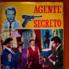 Tebeos: AGENTE SECRETO- Nº 21 - SÓLO SONRÍEN LOS VIVOS- 1967-GRAN LUIS COLLADO- BUENO-DIFICIL-LEAN-1480. Lote 278824398