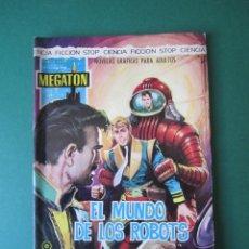 Tebeos: MEGATON (1966, FERMA) 8 · 1966 · EL MUNDO DE LOS ROBOTS. Lote 170861760
