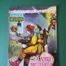 Tebeos: MEGATON (1966, FERMA) 9 · 1966 · LA NAVE MISTERIOSA. Lote 170862080