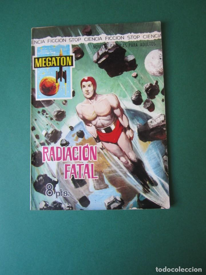 MEGATON (1966, FERMA) 17 · 1966 · RADIACIÓN FATAL (Tebeos y Comics - Ferma - Otros)