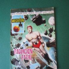 Tebeos: MEGATON (1966, FERMA) 17 · 1966 · RADIACIÓN FATAL. Lote 170872860