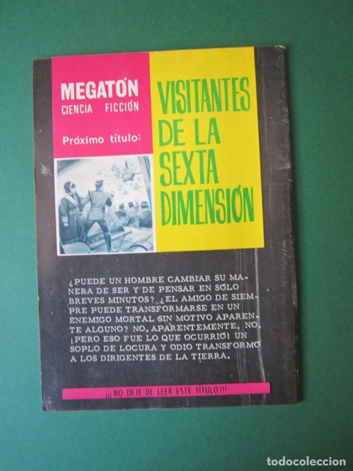 Tebeos: MEGATON (1966, FERMA) 17 · 1966 · RADIACIÓN FATAL - Foto 2 - 170872860