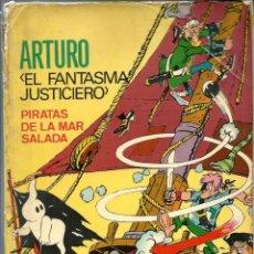 Tebeos: ARTURO EL FANTASMA JUSTICIERO - PIRATAS DE LA MAR SALADA, FERMA 1965 COL. AVENTURAS ILUSTRADAS EXTRA. Lote 170878240