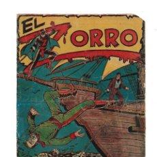 Tebeos: EL ZORRO, AÑO 1956 COLECCIÓN COMPLETA SON 25 TEBEOS ORIGINALES + ALMANAQUE DEL 1957 ES ORIGINAL . Lote 171439808