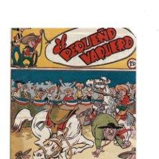 Tebeos: EL PEQUEÑO VAQUERO AÑO 1957 LOTE DE 5 TEBEOS ORIGINALES QUE SON LOS Nº 5 - 14 - 20 - 23 - 25 MARTINE. Lote 171623838