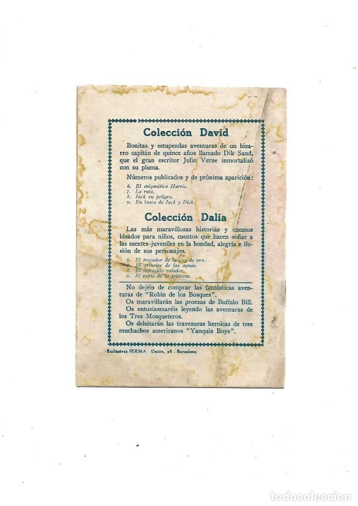 Tebeos: Aventuras de Dick Sand Lote de 3 Tebeos Originales que son los Nº 1 - 9 - 14 Dibujos V. Farrés - Foto 4 - 171648993