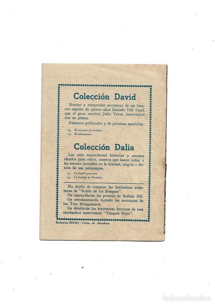 Tebeos: Aventuras de Dick Sand Lote de 3 Tebeos Originales que son los Nº 1 - 9 - 14 Dibujos V. Farrés - Foto 6 - 171648993