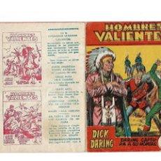 Tebeos: DICK DARING, HOMBRES VALIENTES DE 17 X 12. CMS. AÑO 1958 Nº 4. ES ORIGINAL Y DIFICI EDITORIAL FERMA.. Lote 171705874