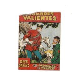 Tebeos: DICK DARING HOMBRES VAIENTES AÑO DE 17 X 12 CMS.1958 Nº 17 ES ORIGINAL Y DIFICIL EDITORIAL FERMA.. Lote 171719193