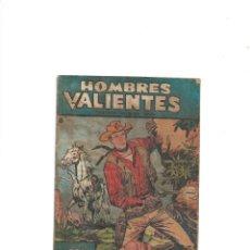 Tebeos: HOMBRES VALIENTES JESSE JAMES DE 17 X 12. CMS. AÑO 1958. Nº 8 ES ORIGINAL Y DIFICIL EL ÚLTIMO. Lote 171719724