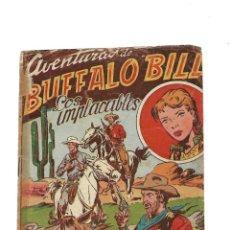 Tebeos: AVENTURAS DE BUFFALO BILL, AÑO 1955 Nº 76 ES ORIGINAL Y DIFICIL DIBUJOS DE FERRANDO. Lote 171723799