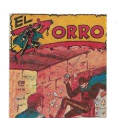 Tebeos: EL ZORRO AÑO 1956. Nº 14 NO ES ORIGINAL SACADA CON PAPEL ANTIGUO.. Lote 171725258