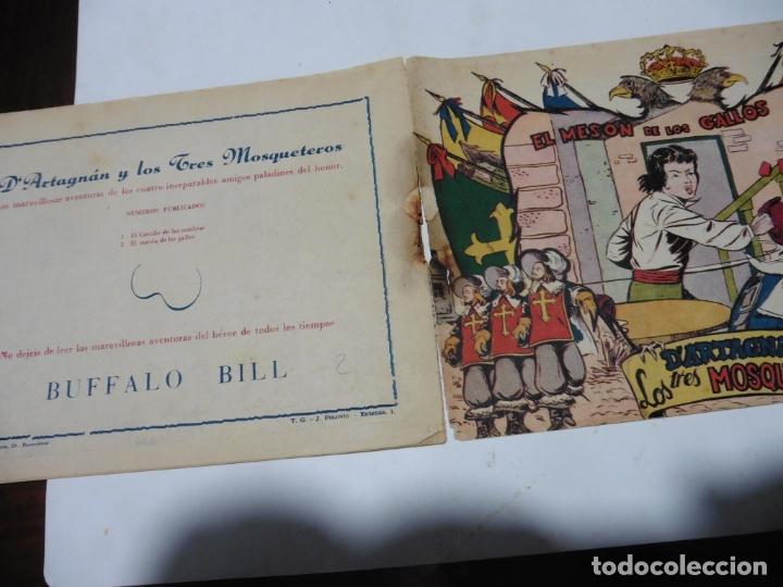 Tebeos: D ARTAGNAN Y LOS TRES MOSQUETEROS Nº 2 FERMA ORIGINAL - Foto 3 - 171781359
