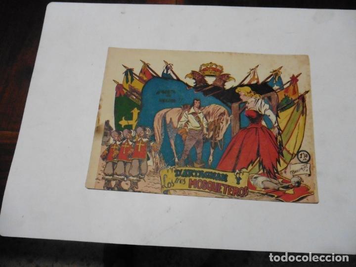 D ARTAGNAN Y LOS TRES MOSQUETEROS Nº 4 FERMA ORIGINAL (Tebeos y Comics - Ferma - Otros)