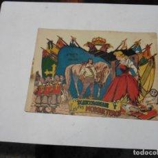 Tebeos: D ARTAGNAN Y LOS TRES MOSQUETEROS Nº 4 FERMA ORIGINAL. Lote 171781400