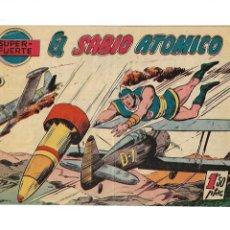 Tebeos: SUPER - FUERTE, AÑO 1958 Nº 9. ES ORIGINAL EL PENULTIMO DIBUJANTE CASANOVAS EDITORIAL FERMA.. Lote 171824992