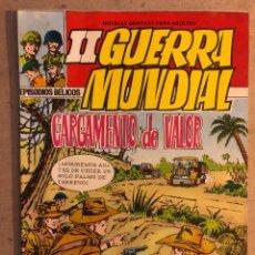 Tebeos: EPISODIOS BÉLICOS: II GUERRA MUNDIAL N° 3 CARGAMENTO DE VALOR (EDITORIAL FERMA 1967).. Lote 172862379