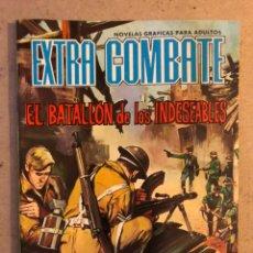 BDs: EXTRA COMBATE N° 63 EL BATALLÓN DE LOS INDESEABLES. EDITORIAL FERMA 1965. Lote 172918082