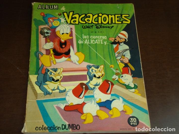 COLECCION DUMBO ALBUM DE VACACIONES LAS CENIZAS DE ALICATE Y... (Tebeos y Comics - Ferma - Otros)