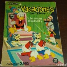 Tebeos: COLECCION DUMBO ALBUM DE VACACIONES LAS CENIZAS DE ALICATE Y.... Lote 172935977
