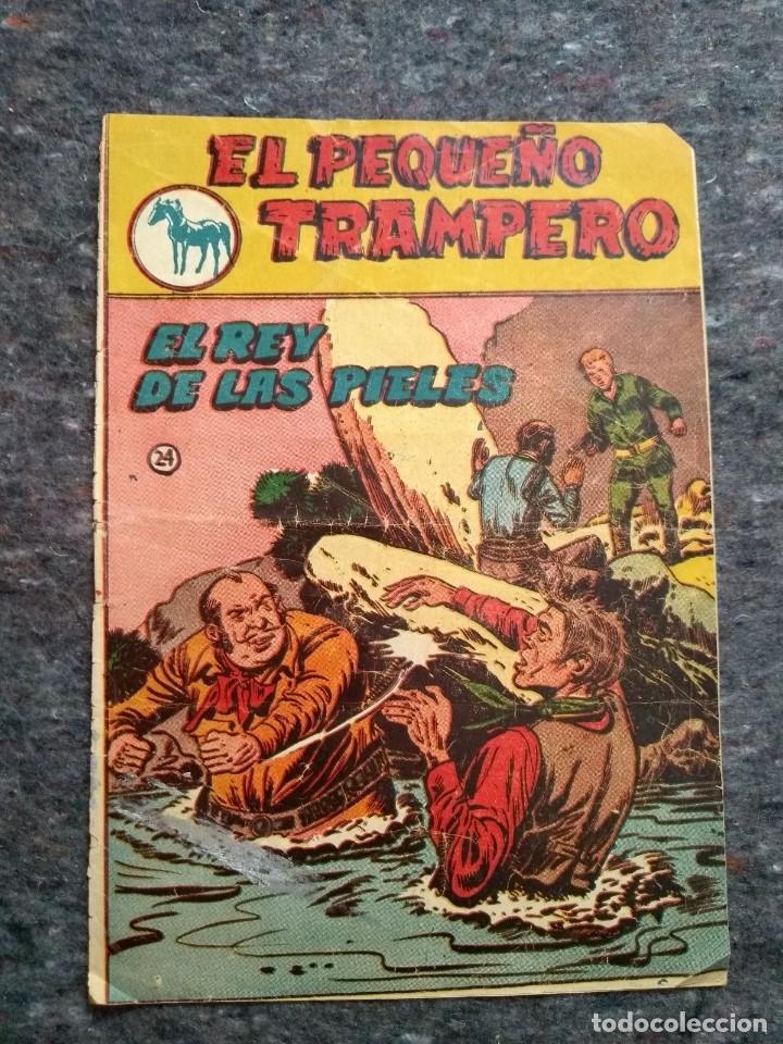 EL PEQUEÑO TRAMPERO Nº 24 - EL REY DE LAS PIELES (Tebeos y Comics - Ferma - Otros)