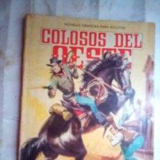 Livros de Banda Desenhada: COLOSOS DEL OESTE- Nº 30 -JESSE JAMES.TEMIBLE BANDIDO-1964-FELIPE BARNÉS-DIFÍCIL-BUENO-LEAN-1774. Lote 173420307