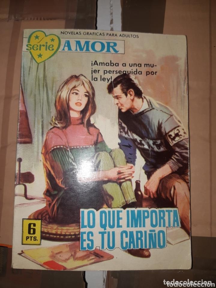 TEBEOS-CÓMICS CANDY - AMOR 188 - FERMA 1962 - RARÍSIMO - AA99 (Tebeos y Comics - Ferma - Otros)