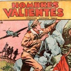 Livros de Banda Desenhada: HOMBRES VALIENTES. COLECCION ILUSTRADA FERMA. TOMMY BATALLA. ATAQUES DESDE EL AIRE. Nº 19.. Lote 173745994