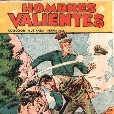Giornalini: HOMBRES VALIENTES. COLECCION ILUSTRADA FERMA. TOMMY BATALLA. EL AVIADOR SOLITARIO. Nº 25.. Lote 173748497
