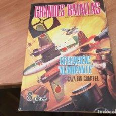 Livros de Banda Desenhada: GRANDES BATALLAS Nº 51 OPERACION ALMIRANTE CAZA SIN CUARTEL ( ORIGINAL FERMA) (COIB25). Lote 173872649