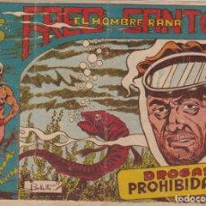 Tebeos: FRED SANTOS EL HOMBRE RANA Nº 8 EL DE LA FOTO VER FOTO ADICIONAL . Lote 173915464