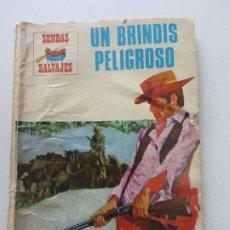 Livros de Banda Desenhada: COLECCION SENDAS SALVAJES Nº 170 UN BRINDIS PELIGROSO - PRODUCCIONES EDITORIALES CX22. Lote 174491778