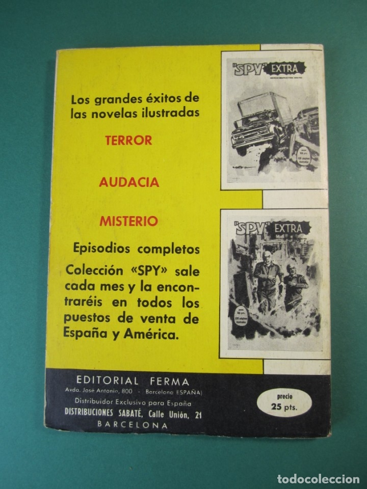 Tebeos: SPY EXTRA (1969, FERMA) 5 · 1969 · SPY EXTRA - Foto 2 - 174999355