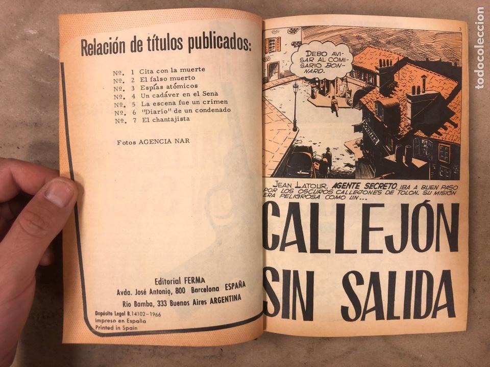 Tebeos: AGENTE SECRETO. LOTE 3 TOMOS CON 25 NOVELAS GRÁFICAS ENCUADERNADAS. EDITORIAL FERMA (1966). - Foto 5 - 175813108