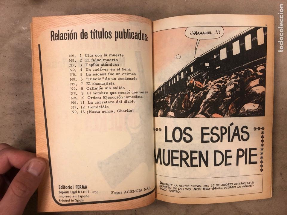Tebeos: AGENTE SECRETO. LOTE 3 TOMOS CON 25 NOVELAS GRÁFICAS ENCUADERNADAS. EDITORIAL FERMA (1966). - Foto 7 - 175813108