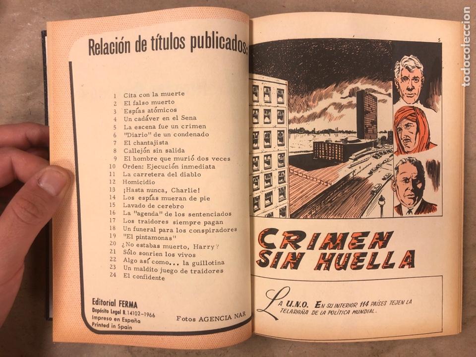 Tebeos: AGENTE SECRETO. LOTE 3 TOMOS CON 25 NOVELAS GRÁFICAS ENCUADERNADAS. EDITORIAL FERMA (1966). - Foto 43 - 175813108