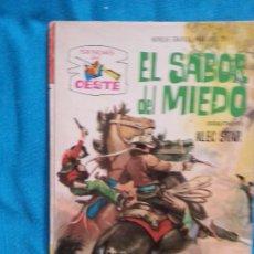 Tebeos: EL SABOR DEL MIEDO - ALEC STAR - SENDAS DEL OESTE 195. Lote 175919997