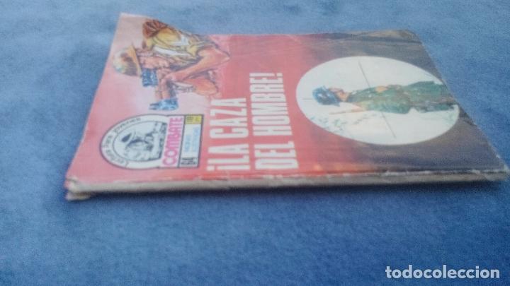 Tebeos: COMBATE Nº 107 PRODUCIONES EDITORIALES - 64 PGS - 16,5 X 12 CMS LA CAZA DEL HOMBRE - Foto 3 - 176581709