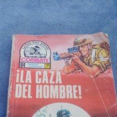 Tebeos: COMBATE Nº 107 PRODUCIONES EDITORIALES - 64 PGS - 16,5 X 12 CMS LA CAZA DEL HOMBRE. Lote 176581709