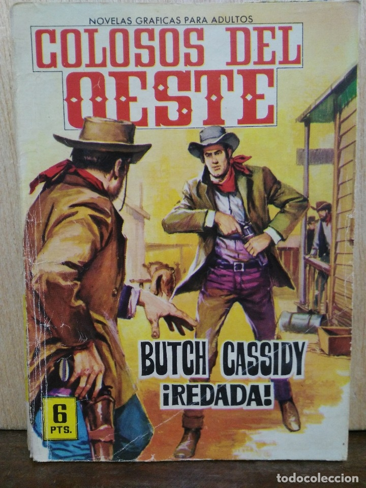 COLOSOS DEL OESTE - Nº 19, BUTCH CASSIDY ¡REDADA! - ED. FERMA (Tebeos y Comics - Ferma - Colosos de Oeste)