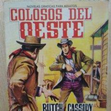 Tebeos: COLOSOS DEL OESTE - Nº 19, BUTCH CASSIDY ¡REDADA! - ED. FERMA. Lote 177571082