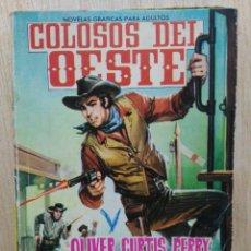 Tebeos: COLOSOS DEL OESTE - Nº 21, OLIVER CURTIS PERRY, EL AUDAZ - ED. FERMA. Lote 177571163