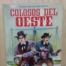 Tebeos: COLOSOS DEL OESTE - Nº 31, LA AGENCIA PINKERTON ¡CONTRA EL CRIMEN! - ED. FERMA. Lote 177571405