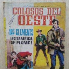 Tebeos: COLOSOS DEL OESTE - Nº 35, LOS CLEMENTS ¡ESTAPIDA DE PLOMO! - ED. FERMA. Lote 177571559