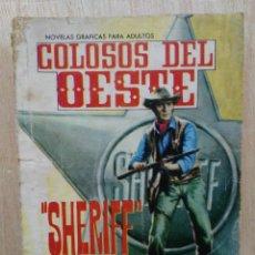 Livros de Banda Desenhada: COLOSOS DEL OESTE - Nº 51, ``SHERIFF´´ - ED. FERMA. Lote 177572113