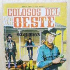 Livros de Banda Desenhada: COLOSOS DEL OESTE - Nº 69, EL CAZADOR DE FORAJIDOS - ED. FERMA. Lote 177572198