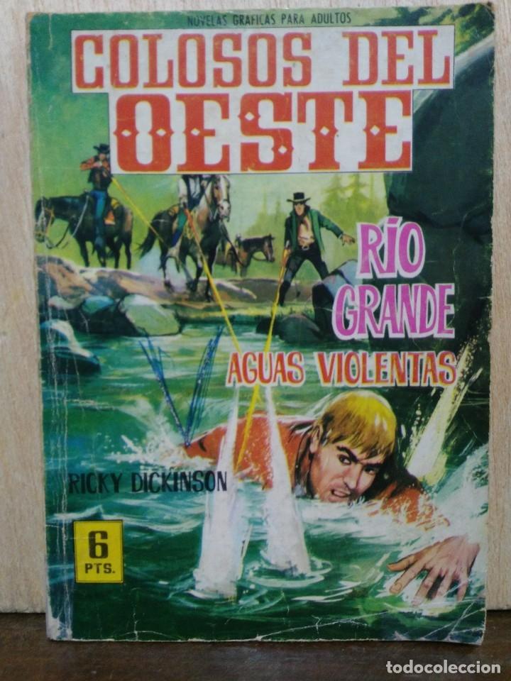 COLOSOS DEL OESTE - Nº 70, RÍO GRANDE, AGUAS VIOLENTAS - ED. FERMA (Tebeos y Comics - Ferma - Colosos de Oeste)