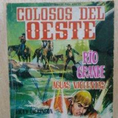 Tebeos: COLOSOS DEL OESTE - Nº 70, RÍO GRANDE, AGUAS VIOLENTAS - ED. FERMA. Lote 177572262